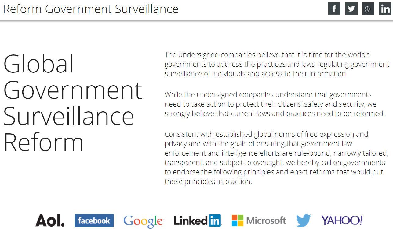 Los gigantes tecnológicos se unen para defender la privacidad