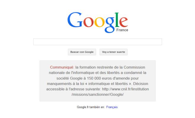 Google suma sanciones por su política de privacidad